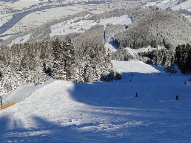 a good piste - slope to the Halsmarter