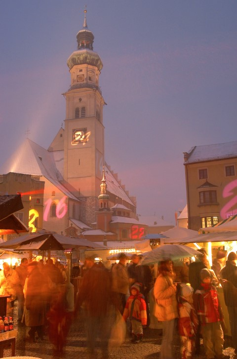 Marche´de noel à Hall in Tirol